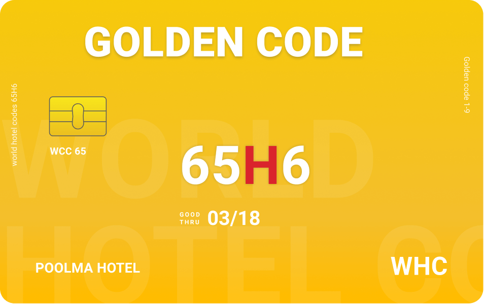 Golden Code world hotel codes