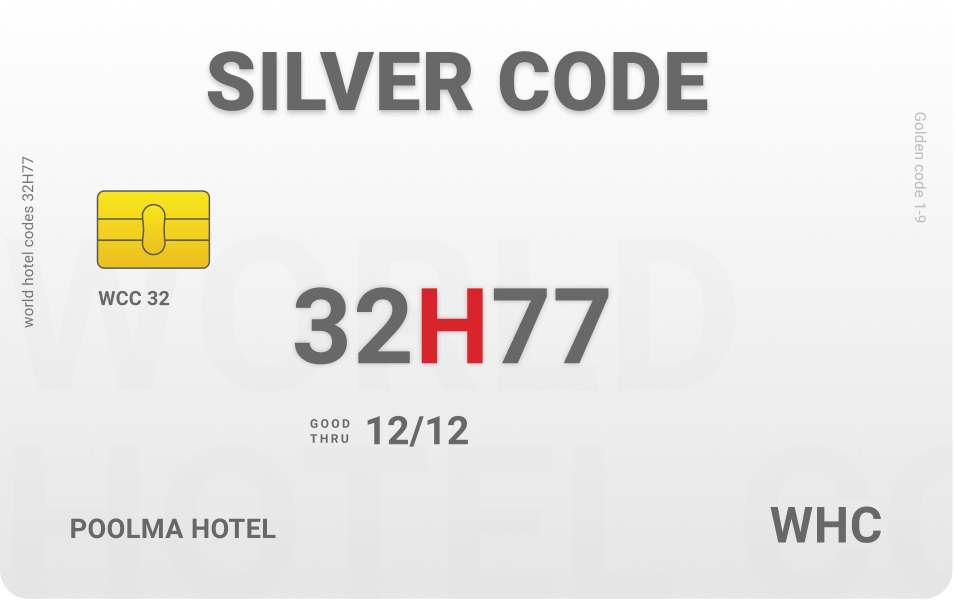 Sliver code world hotel codes